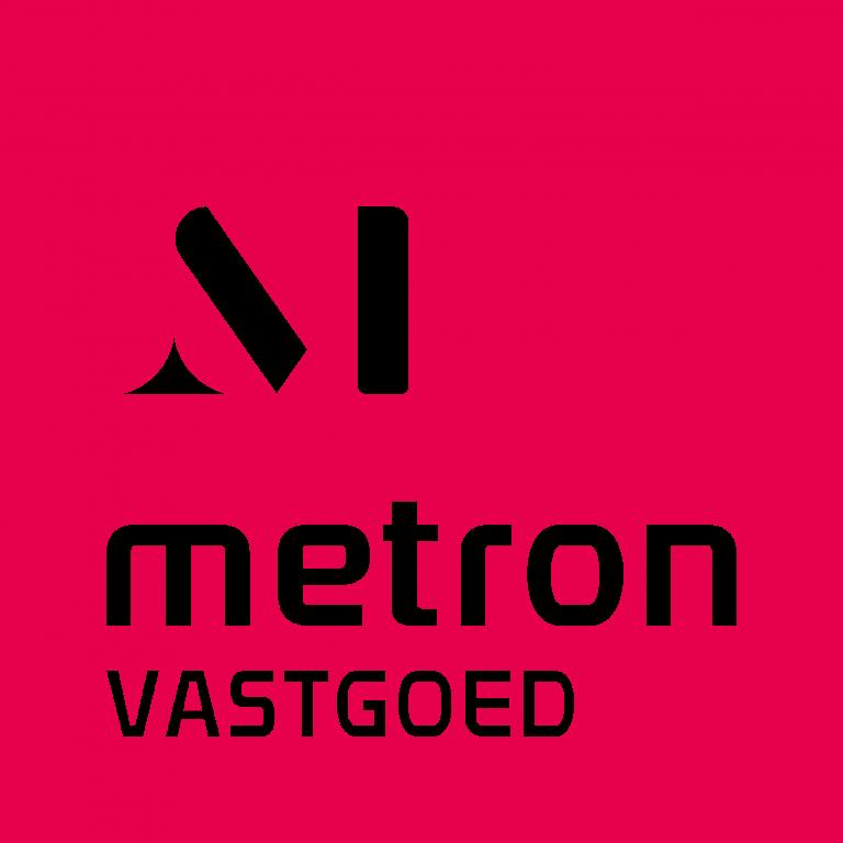 Metron vastgoed roze met wit